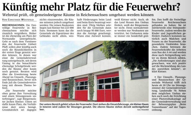 150709 WR Umbau GV fuer Feuerwehr